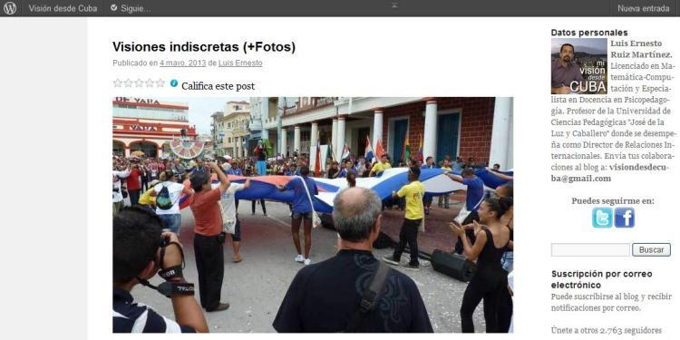 VisiondesdeCuba